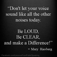Public Speaking - Quotes, tips, strategies and stories from and for those who speak in public. Check out our website at: http://LessonsFromPublicSpeaking.com; also Like us on Facebook: Facebook.com/LessonsFromPublicSpeaking, and visit us on Twitter: @lpublicspeaking