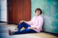 Urban Senior Portrait in Denver with Regis Jesuit Student - Elevate Blog