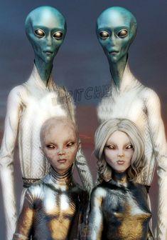 Aliens And Ufos, Ancient Aliens, Alien Creatures, Fantasy Creatures, Nordic Aliens, Alien Sightings, Alien Drawings, Alien Concept Art, Alien Races