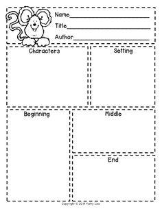 First Grade a la Carte: Story Elements freebie