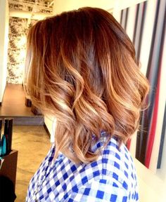 Curly hairstyle 2016 for medium hair