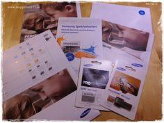moppeline123 - Produkttest Samsung Speicherkarten