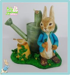 Peter Rabbit cake - CPC Beatrix Potter Collaboration by Bety'Sugarland by Elisabete Caseiro