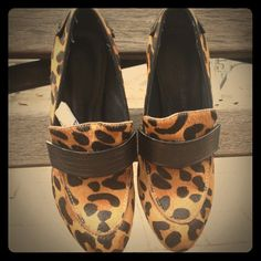 """Spotted while shopping on Poshmark: """"Rebecca Minkoff Leopard Loafer Pumps""""! #poshmark #fashion #shopping #style #Rebecca Minkoff #Shoes"""