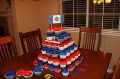 Cherry Creek High School Cupcake Tower
