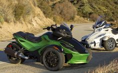 First Ride: 2012 Can-Am Spyder RS/RT