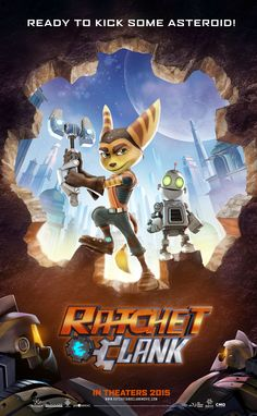 Ratchet and Clank poster for movie