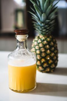 Fermentation Recipes, Homebrew Recipes, Beer Recipes, Jamaican Ginger Beer Recipe, Tepache Recipe, Tequila, Pineapple Beer, Sukkot Recipes