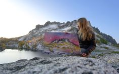 Drawn To High Places: Mountain Artist Nikki Frumkin shares the inspiration behind her art.