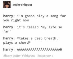 """30 Harry Potter Posts That Are Magically Funny - Funny memes that """"GET IT"""" and want you to too. Get the latest funniest memes and keep up what is going on in the meme-o-sphere. Harry Potter Tumblr Posts, Harry Potter Jokes, Harry Potter Pictures, Harry Potter Fandom, Harry Potter World, Sassy Harry Potter, Harry Potter Musical, Harry Potter Fun Facts, Harry Potter Imagines"""