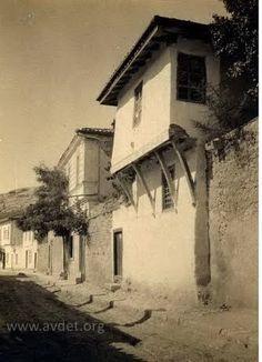 Татарский Крым.  Дом в старой части Бахчисарая: фото 1915г.