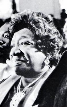 """Alberta Williams King, mother of Martin Luther King, Jr., was assassinated June 30, 1974 at the hands of Marcus Wayne Chenault, 23 years old.  The Rev. Martin Luther King, Sr., struck by the violent deaths of his two sons and by the tragic death of his wife Alberta, said at her funeral service on July 3, """"I cannot hate any man."""""""