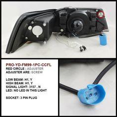 Spyder Auto PRO-YD-FM99-1PC-CCFL-SM Ford Mustang Smoke CCFL Projector Headlight - http://musclecarheaven.net/?product=spyder-auto-pro-yd-fm99-1pc-ccfl-sm-ford-mustang-smoke-ccfl-projector-headlight