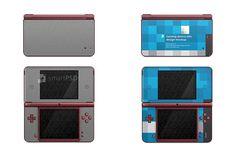 Nintendo DSI XL Skin Decal Design by VecRas on @creativemarket