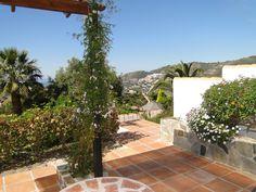 Terrasse der Casa Jazmin (Urlaub in Andalusien: www.finca-andalusia.de)