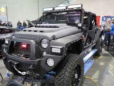 Custom Jeep by zombieite, via Flickr