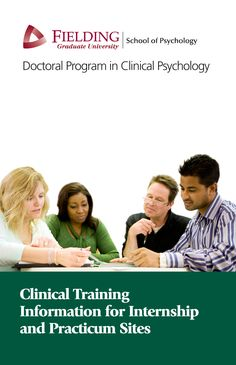 Clinical Training Information for Clinical Psychology Internship and Practicum Sites