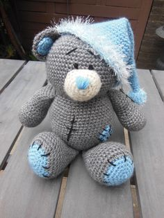 Me to you beertje <3 crochet <3 gehaakt <3 made by mie <3