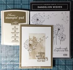 Stampin Up! Dandelion Wishes