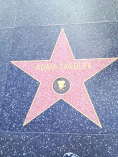 Hollywood Walk of Fame, Los Angeles, CA, USA Hollywood Star Walk, Hollywood Boulevard, Adam Sandler, Celebrities Then And Now, Celebrity Stars, Famous Stars, Judy Garland, Wedding Tattoos, Hollywood California