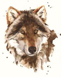 #watercolor animals