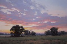 Sunrise by Bruce Peil Oil ~ 24 x 36