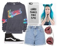 """""""Sem título #88"""" by sweet-liv-24 on Polyvore featuring moda, Topshop, Wildfox, Casetify, Vans e Christian Dior"""