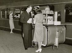Mobile buffet service - Sydney by State Records NSW, via Flickr 28/07/1948