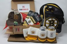 Fan-gear gift box of 6 Boston Bruins Products, best gift of NHL team souvenirs, Fan-gear at GREAT VALUE! Canada's sports gift box service, combos available in CAD or build your OWN BOX! Certificate Of Achievement, Sports Gifts, Boston Bruins, Fan Gear, Nhl, Best Gifts, Lunch Box, Fans, Beer