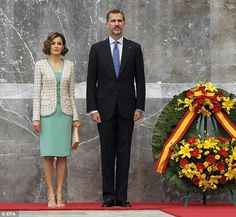 Spain's Queen Letizia and Mexico's First Lady Angélica Rivera convene #dailymail
