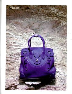 770e43b7a5b5 Our Deep Purple Soft Ricky Bag