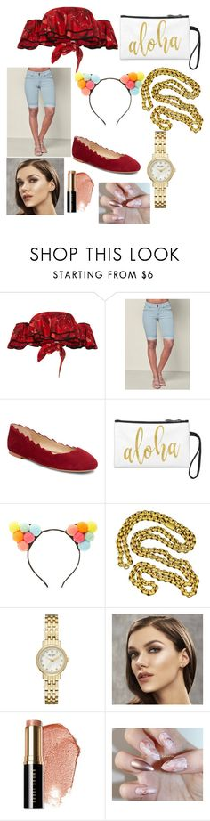 """""""that's what's poppin"""" by myshea-butler on Polyvore featuring Johanna Ortiz, Venus, Sam Edelman, Forever 21, Kate Spade and Bobbi Brown Cosmetics"""