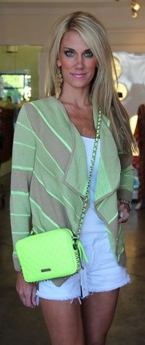 Want this cardigan so bad!!! And love her hair color!!!