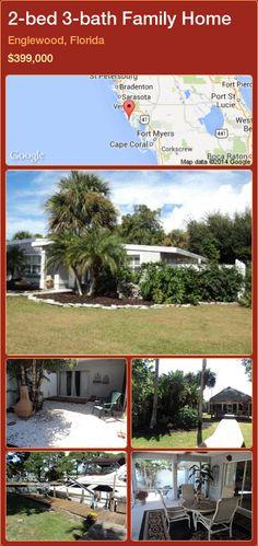 2-bed 3-bath Family Home in Englewood, Florida ►$399,000 #PropertyForSaleFlorida http://florida-magic.com/properties/33638-family-home-for-sale-in-englewood-florida-with-2-bedroom-3-bathroom