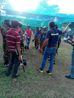 Indus Towers Event Photographs !!!  Combat Training Platform has organised team building program - Paintball Game Event...  Mission Brief – CERTIFIED SHARP SHOOTER TOURNAMENT...
