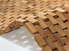 #Holzvorleger Pieces von #Rhomtuft