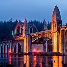 The town itself - as well as the surrounding scenery - is positively stunning. | Florence, Oregon