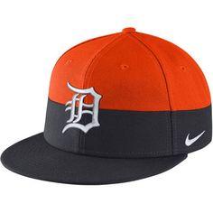 Detroit Tigers Nike True Color Snapback Adjustable Hat - Orange/Navy