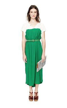 I don't think the color green looks good on me but I think I could rock this...