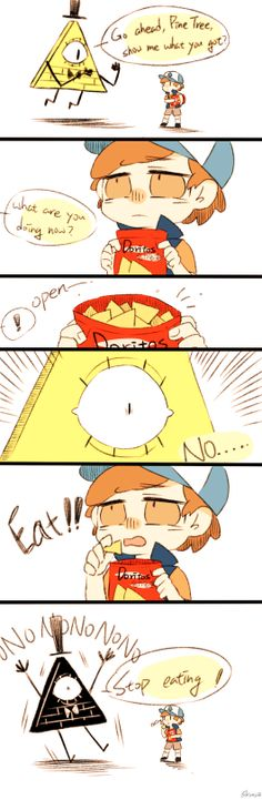 Gravity Falls Funny, Gravity Falls Dipper, Gravity Falls Comics, Gravity Falls Art, Dipper And Bill, Dipper And Mabel, Billdip Comic, Cute Comics, Mlp Comics