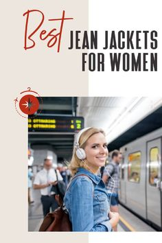 TFG readers want to know, what's the best womens jean jacket? We put together all of their recommendations. Take a look! #TravelFashionGirl #TravelFashion #TravelClothing #jeanjacket #womenjacket #wardrobebasic #lightweightdenimjacket #falljacket