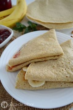 Discover recipes, home ideas, style inspiration and other ideas to try. Crepes And Waffles, Mexican Food Recipes, Sweet Recipes, Vegan Recipes, Healthy Desserts, Delicious Desserts, Yummy Food, Tapioca Crepes, Pancake