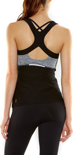 Great detailing on the back of this lucy Run Around Tank Top - Women's.