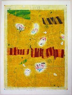 "Hideo Hagiwara, new Landscape No. 2, 1968, ed. of 50, 35 1/2"" x 26 1/4"""