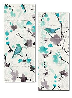 Beautiful Teal and Gray Watercolor-Style Floral and Bird ... https://www.amazon.com/dp/B01EIPJB3Y/ref=cm_sw_r_pi_dp_x_BP4oybHJYX9NP