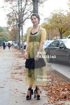 News Photo: Fashion designer and photographer Ulyanna Sergeenko wearing her…