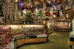 Decorations at Bronner's CHRISTmas Wonderland in Frankenmuth, Michigan