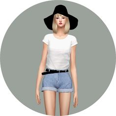 Belt Hot-Pants at Marigold via Sims 4 Updates