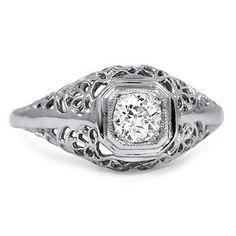 The Inger Ring #BrilliantEarth #Vintage