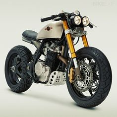 believe it or not this is a Honda XL600R custom...!!!!!!!